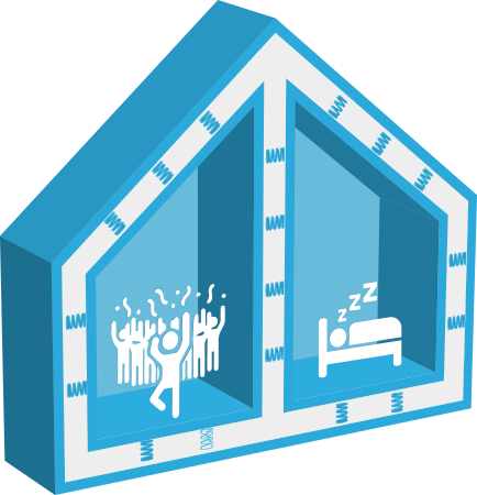 Effetto casa singola