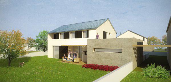 Case unifamiliari crema costruzioni - Progetto completo casa unifamiliare ...